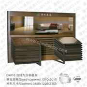 CX016 Inexpensive and Convenient Ceramic Tile Display Stand Rack for Showroom and