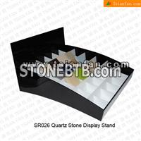 SR018 Artificial Quartz Compressed Stone Display Stands