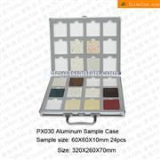 PX030 Aluminum Simplified Stone Tiles Holder Box