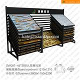 SW007 Exterior Wall Stone Display Racks