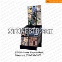 SW010 Irregualr Cultural Stone Sample Holder