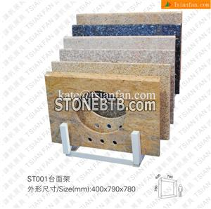 ST001 Granite Kitchen Top Display Shelves