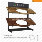 ST003 Stone Display Racks to Show Kitchen Cabinet