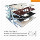 ST005 Multi-tiler Steel Vanity Top Stone Display Stand Rack