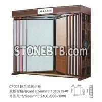 stone display,stone tile display,stone display stand