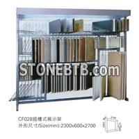display rack for mosaic tile