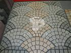 granite cubic stone with mesh