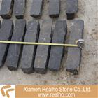 absolute black granite natural split paver stone