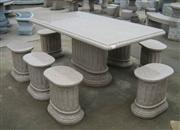Stone Table, Stone Garden Table, Stone Landscpate Table And Chair