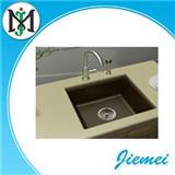 German Craft Scratch Resistance Corrosion-proof Kitchen Quartz Stone Sink For Premium Residence