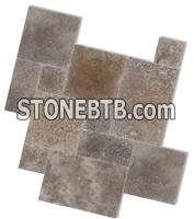Mocha travertine