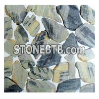 Dark Pebble Stone, River Stone, Pebble Tile