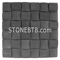 Mosaic Pattern, Black Mosaic Tile, Black Pattern Tile, 3D Mosaic