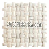 White Mosaic Pattern Tile