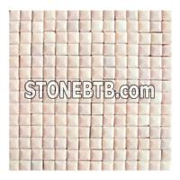 Beige Marble Mosaic Tile, Yellow Marble Pattern Tile