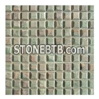 3D Green Mosaic Tile