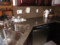 Golden Granite Vanity Top, Bathroom Vanity, Bath Top