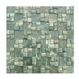 Green Granite Mosaic Pattern Tiles