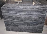 Wood Wave Black Marble