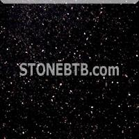 Black Galaxy Granite Flooring Tiles