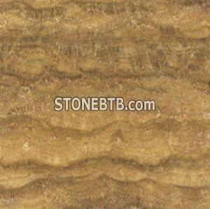 Yellow Wooden Marble, Yellow Wood Marble