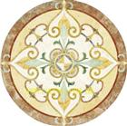 Water Jet Medallion, Marble Pattern, Flooring Medallion