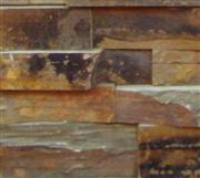 Natural Rusty Slate Wall Block
