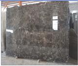 China Dark Emperador Polished Marble Slab