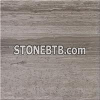 Grey Wooden Grain Sandstone Tiles for Cladding Wall