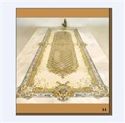 Square Marble Mosaic Floor Water Jet Medallion