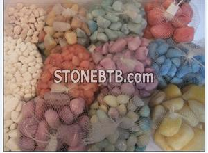 Natural Colored Pebbles decorative Garden Stone