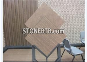 Polished Grey Wooden Grain Marble