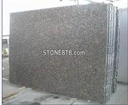 India Polished Tan Brown Granite Slab