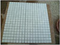 Tumbled Marble Stone Mosaic Pattern Decorative Floor Tile