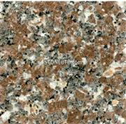 Polished Chinese Pink Flower Granite G378 Floor Tile