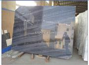 High Polished Imperial Black Marble Flooring