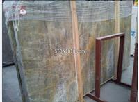 Chinese Polished Coulombic/Jesse Gold Marble Tiles