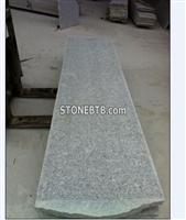 China Flamed G602 Outdoor Grey Natural Granite Stair Tile
