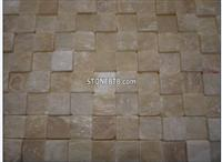 Discount Tumbled Honey Onyx 3D Mosaic Tiles