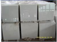 High Polished A grade of White Crystal Marble Floor Tile
