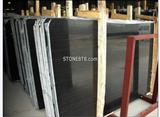 China Polished A grade Black Sandalwood Marble