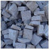 G682 Yellow Rusty Granite Paving Stone Garden