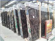 Athena Black And Gold Vein Block Marble