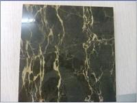 China Black Portoro Gold Vein Marble