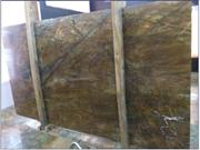 Polished Rain Forest Green Tile Granite