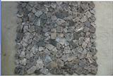 Dark Emperador Brown Marble Irregular Mosaic Tile