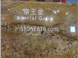 Imperial Gold Granite Kitchen Countertop Tiles