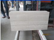 Super Sandalwood White Marble Tile