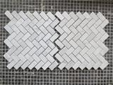 Polished bianco carrara white mosaic tile