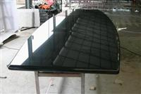 Black Granite Table Top Granite Meeting Top Shanxi Black countertop Island